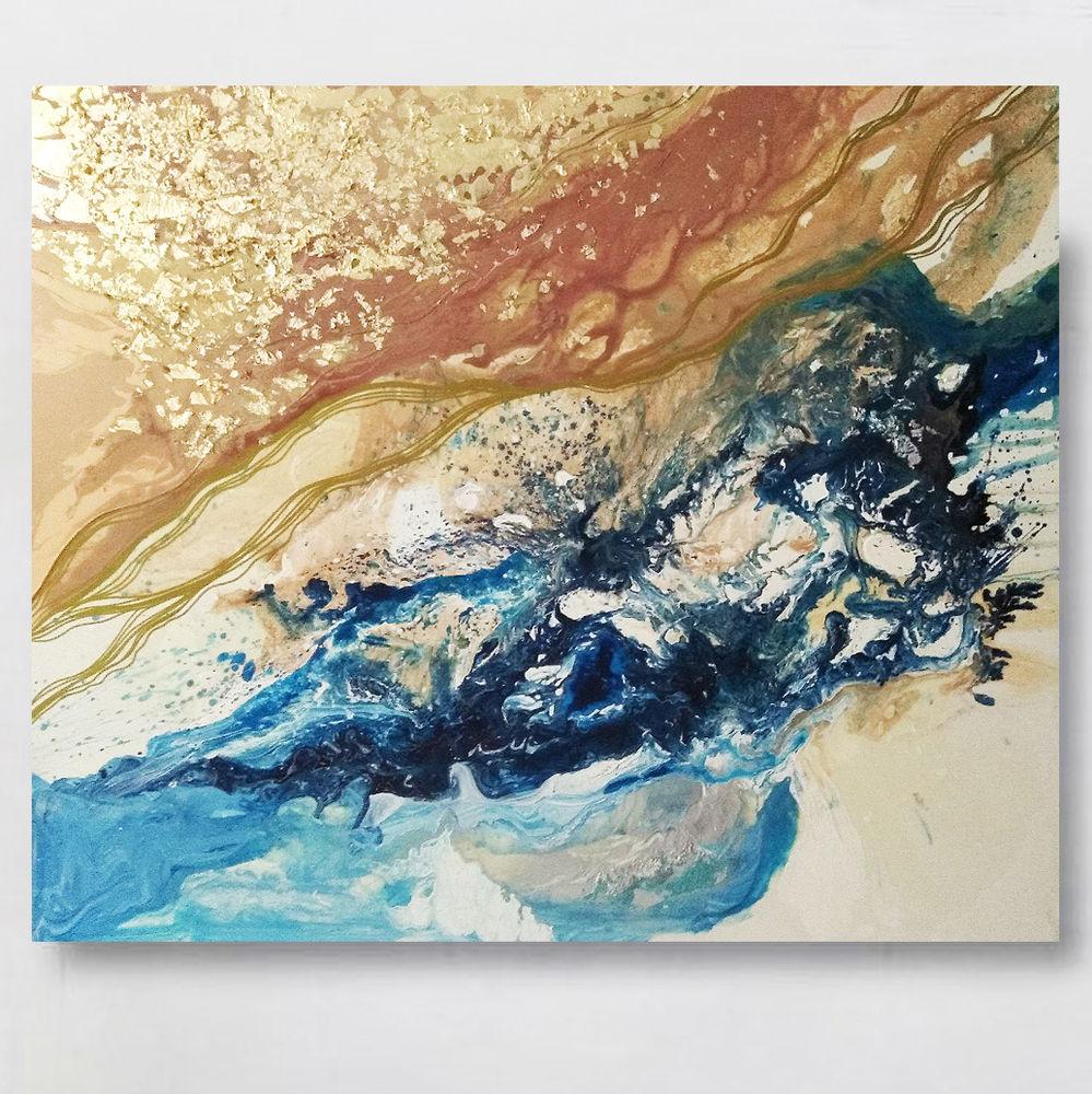 абстракция для интерьера, абстракция картина купить, яркая абстракция