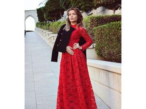Красное платье. Ярмарка Мастеров - ручная работа, handmade.