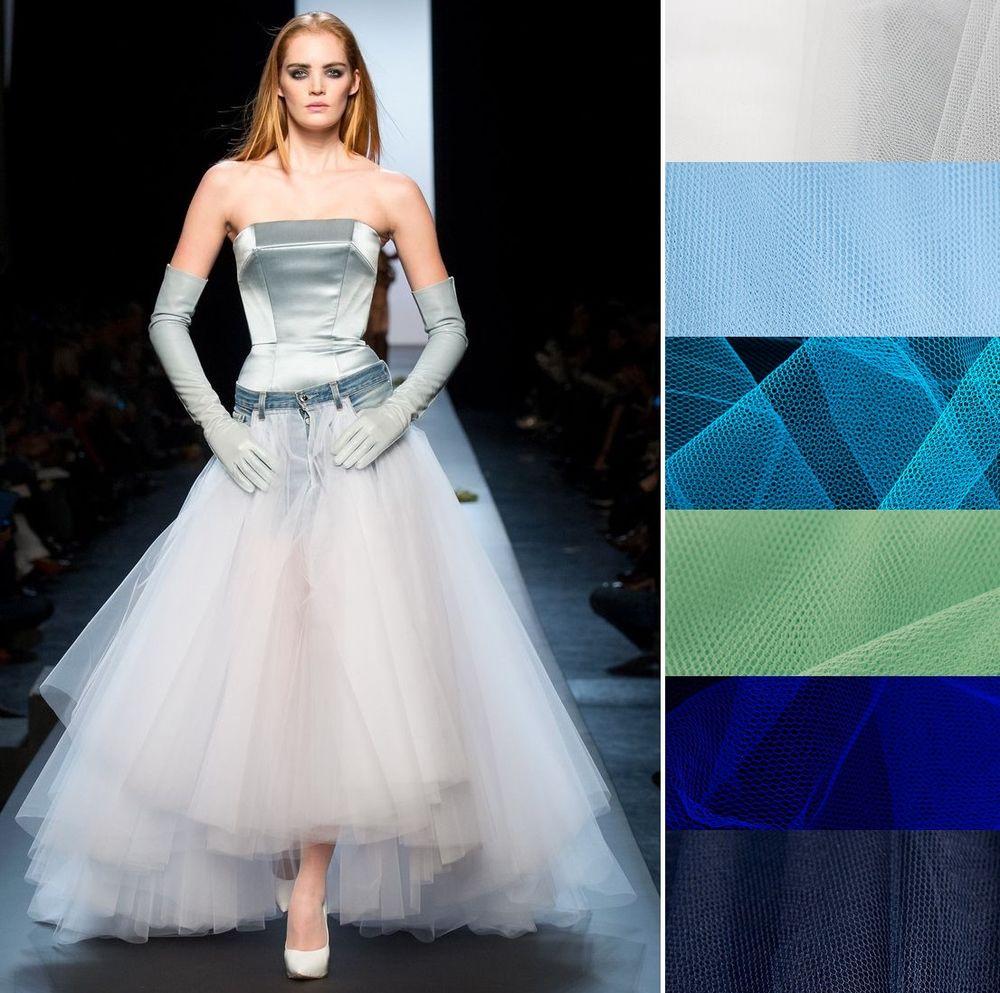 юбка из фатина, модные юбки, ткани для одежды, ткани для творчества, ткани для рукоделия