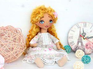 Конфетка- розыгрыш!!! Куколка Есения. | Ярмарка Мастеров - ручная работа, handmade