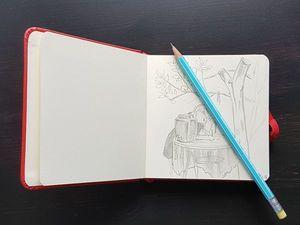 Рисуйте, как дышите — скетчинг для начинающих. Ярмарка Мастеров - ручная работа, handmade.