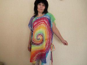 Летняя блуза со скидкой   Ярмарка Мастеров - ручная работа, handmade