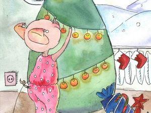 Короткий предновогодний конкурс коллекций  «Новогоднее волшебство»  от Антонины Любецкой.  Приз — картина на выбор!. Ярмарка Мастеров - ручная работа, handmade.