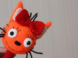 Мастер-класс: вязание Карамельки из мультфильма «Три кота». Ярмарка Мастеров - ручная работа, handmade.
