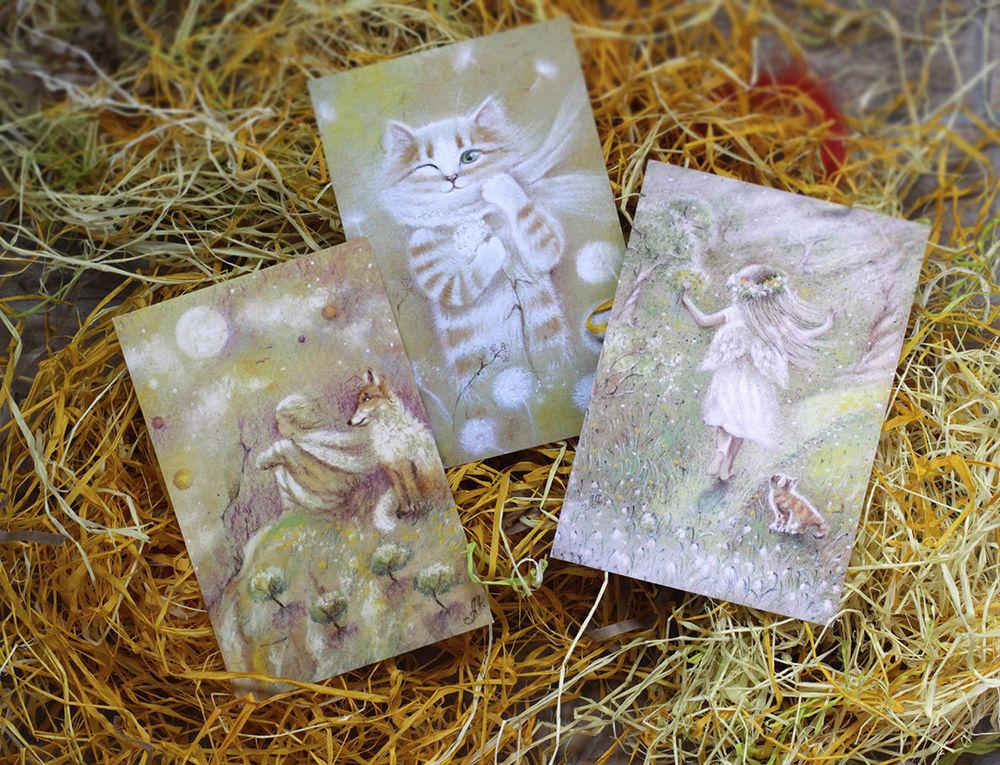 открытки, наборы открыток