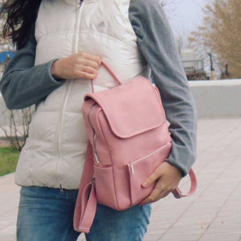 купить подарок девушке, розовый рюкзак