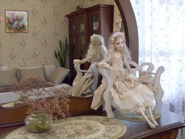 Кукла как элемент декора интерьера   Ярмарка Мастеров - ручная работа, handmade