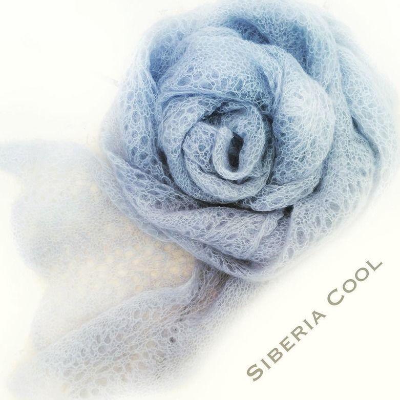 вязаная кофта, купить вязаный комплект, ажурный шарф спицами, голубой шарф, вязаная одежда