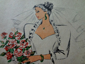 Мода невестам 80-е журнал. Ярмарка Мастеров - ручная работа, handmade.