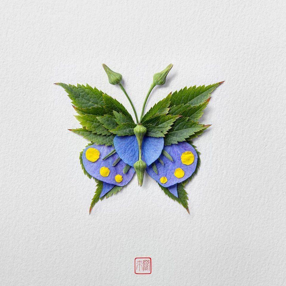 Petal Magic: Unusual Compositions by Raku Inoue, фото № 20