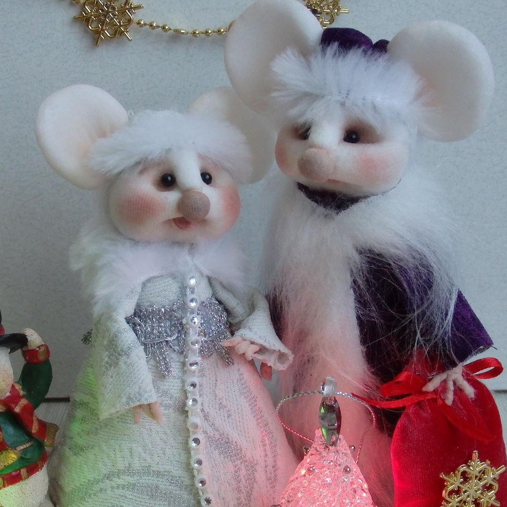 новый год, мышки, снегурочка, новогодние сувениры, сувениры и подарки