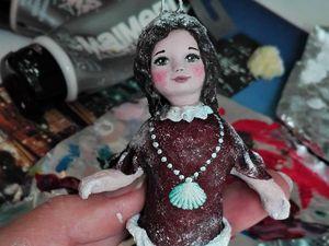 Технология изготовления моих ватных куколок. Часть 1. Ярмарка Мастеров - ручная работа, handmade.