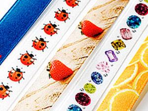 Ленты с полноцветным логотипом методом сублимации | Ярмарка Мастеров - ручная работа, handmade