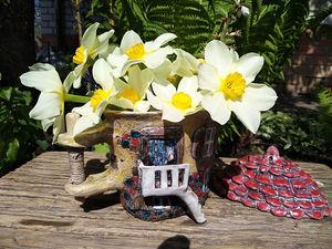 Весна. Дом . Цветение. Ярмарка Мастеров - ручная работа, handmade.