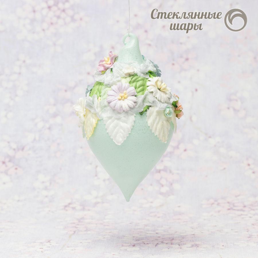 стеклянный шарик шебби