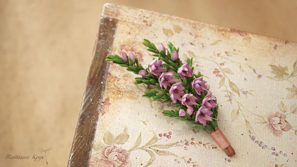 изделие ручной работы, цветочная брошь, реалистичная флористика, авторская брошь