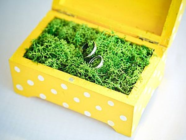 A Meadow Jewelry Box for Rings. Livemaster - handmade