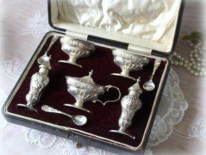 Дополнительные фотографии серебряного круэта для специй. Ярмарка Мастеров - ручная работа, handmade.
