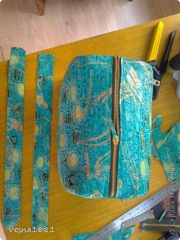 Гардероб Мастер-класс Шитьё Пошив кожаной сумки своими руками Кожа фото 14