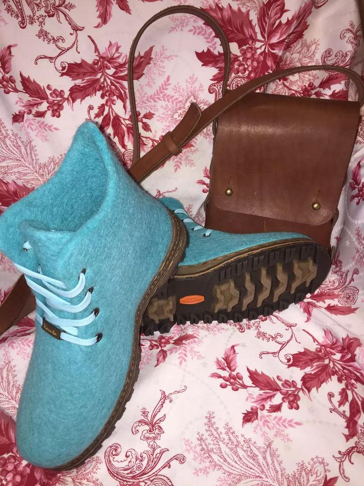 валяние из шерсти, обувь ручной работы
