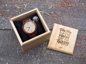 Часы из дерева с гравировкой теперь еще доступнее. Ярмарка Мастеров - ручная работа, handmade.