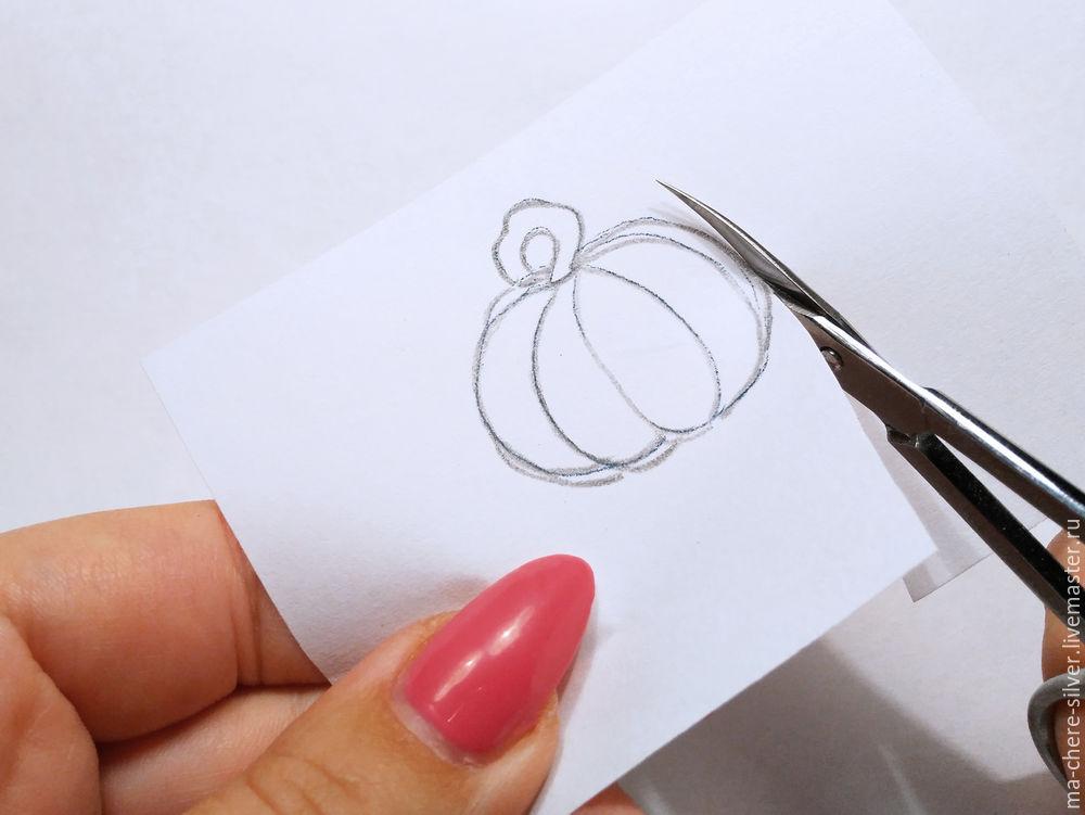 Make Fall Pumpkin From Plastic Bronze, фото № 3