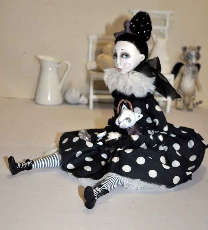 мастер-класс, будуарная кукла