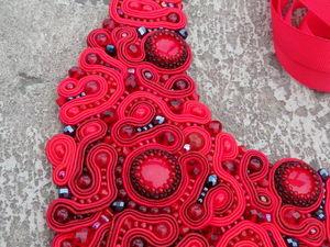 Сутажные украшения. Ярмарка Мастеров - ручная работа, handmade.