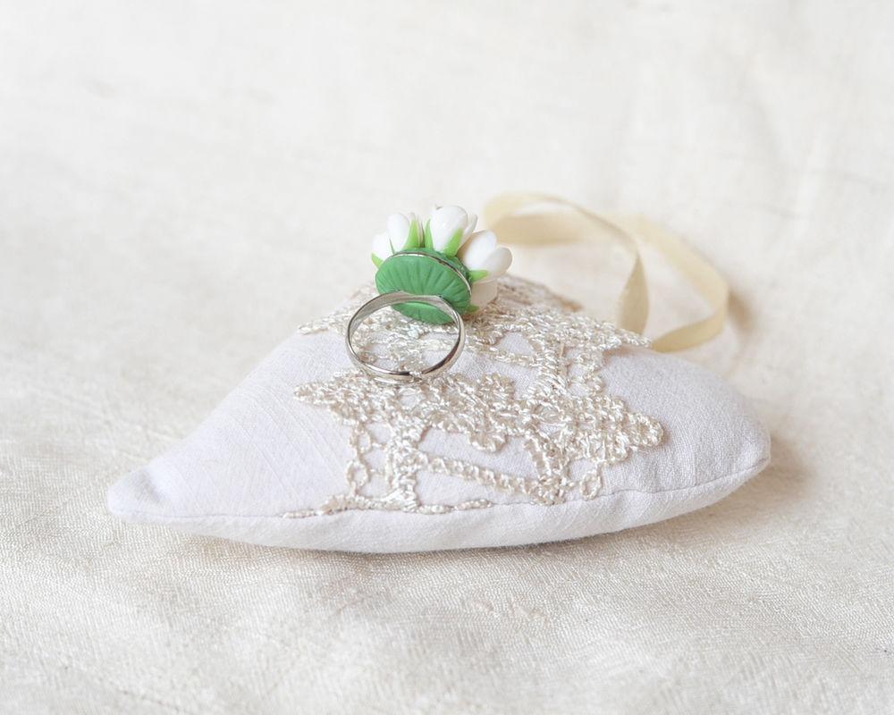 цветочные украшения, кольцо свдебное