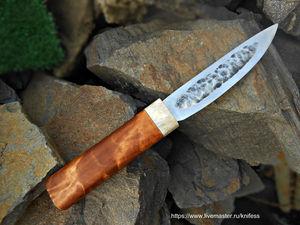 Ковка якутского ножа. Ярмарка Мастеров - ручная работа, handmade.