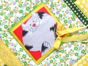"""Детский комплект """"Кот учёный""""!. Ярмарка Мастеров - ручная работа, handmade."""