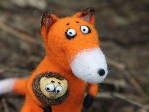 Новая лисичка в млем магазине!!!. Ярмарка Мастеров - ручная работа, handmade.
