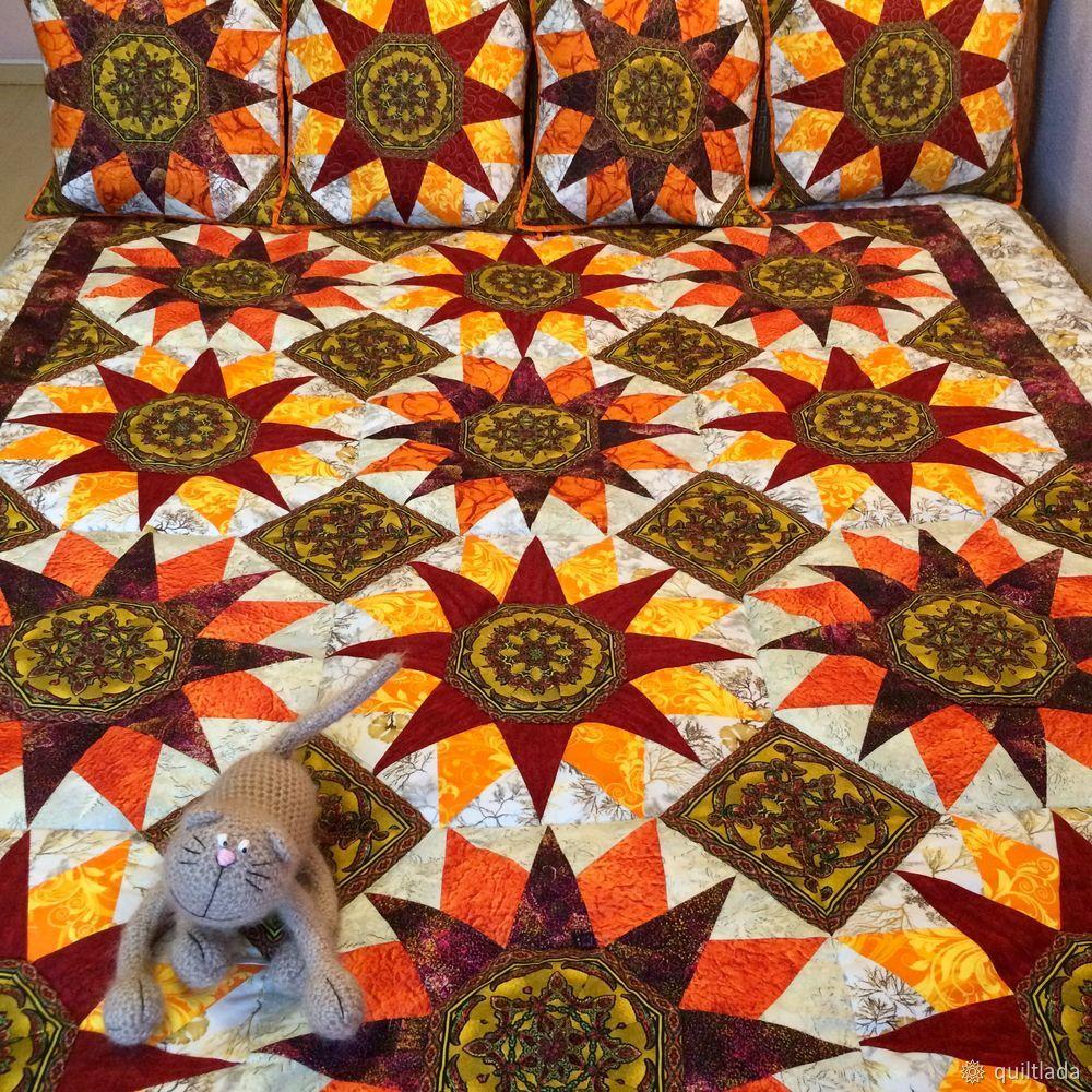лоскутный эфир, квилт, одеяло