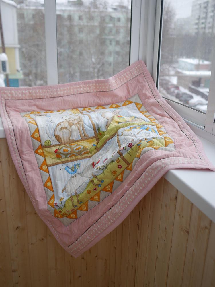 детское одеяло, плед детский