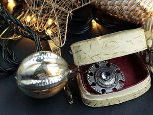 Новогоднее настроение в винтажных украшениях. Ярмарка Мастеров - ручная работа, handmade.