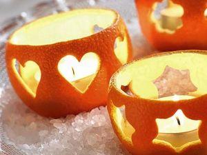 Новогодние идеи: ветки, шишки и апельсины. Ярмарка Мастеров - ручная работа, handmade.