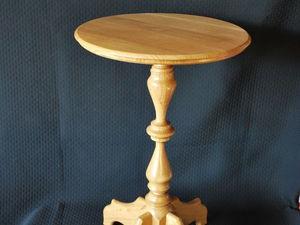 Создаем маленький столик из дерева. Часть первая. Ярмарка Мастеров - ручная работа, handmade.