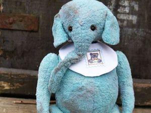 Слон ищет дом!Аукцион с нуля!. Ярмарка Мастеров - ручная работа, handmade.
