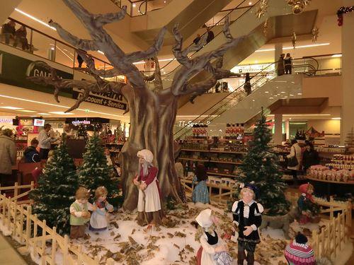 Декорации в торговом центре