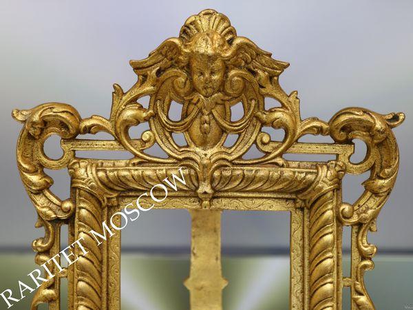 РЕДКОСТЬ Фоторамка рамка ангел бронза Франция 47 | Ярмарка Мастеров - ручная работа, handmade