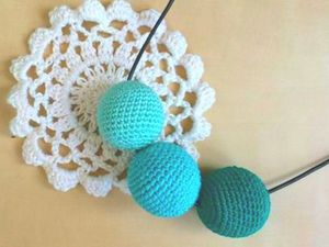 Crochetting Beads: DIY for Beginners. Livemaster - handmade