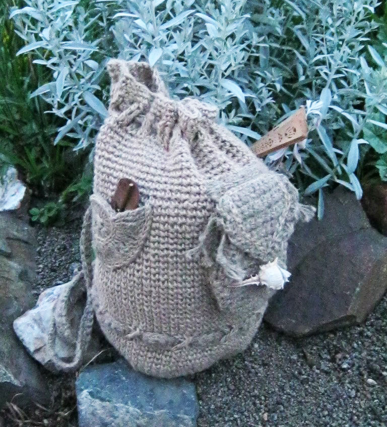bag made of jute, recommendations for care