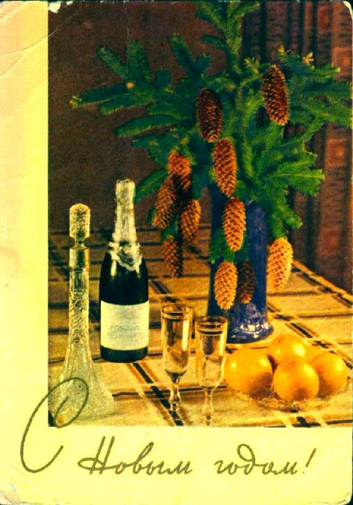 Советские новогодние открытки. Назад в прошлое!, фото № 12