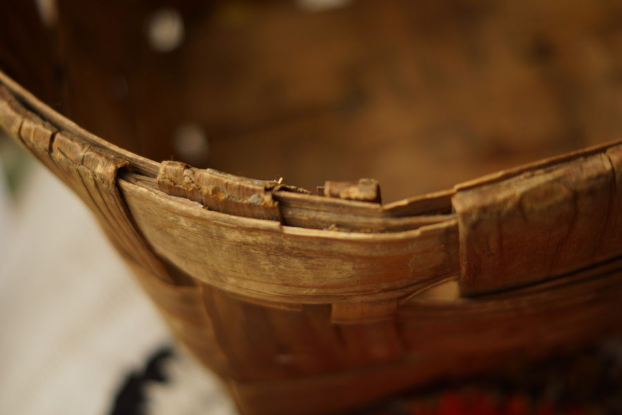 старинное лукошко