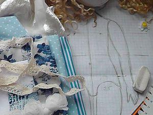 Как сделать аккуратный затылок текстильной кукле: мой способ. Ярмарка Мастеров - ручная работа, handmade.