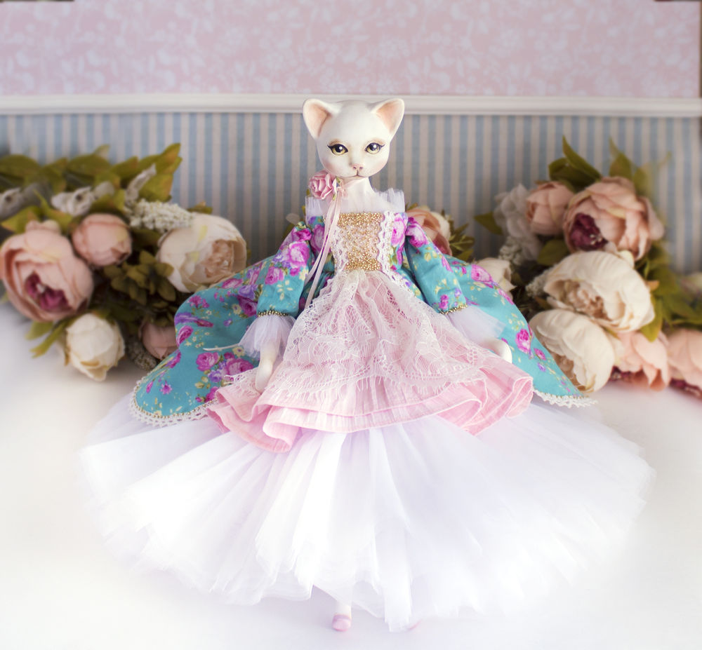 купить интерьерная кукла, купить подарок женщине