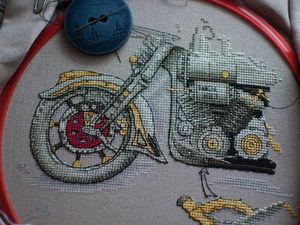 Мотоцикл.. Ярмарка Мастеров - ручная работа, handmade.