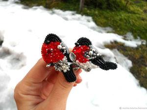 Спасибо за поддержку снегирьков! &#x3B;). Ярмарка Мастеров - ручная работа, handmade.