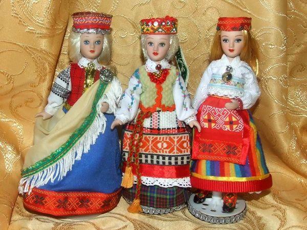 Прибалтийский народный костюм | Ярмарка Мастеров - ручная работа, handmade