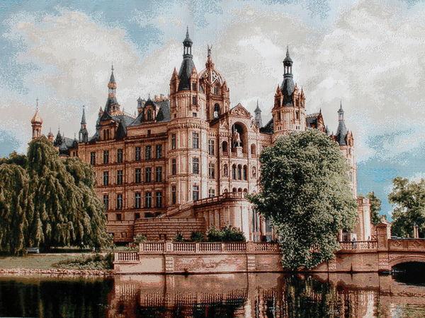 Дворцы и замки в Гобеленовом рае!!! | Ярмарка Мастеров - ручная работа, handmade